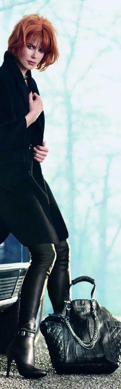 Nicole Kidman for Jimmy Choo F/W 2013 Ad Campaign