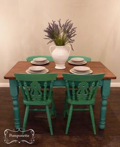 Extendable Dining Table Custom Mix Using Anniesloanhome Chalkpaint