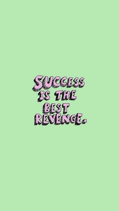 "If you wanna get revenge ""bad"" people just be the successful person Powerful Motivational Quotes, Motivational Quotes For Students, Best Inspirational Quotes, Positive Quotes, Cute Quotes, Happy Quotes, Words Quotes, Sayings, Quotes Lockscreen"