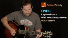 Ragtime Acoustic Blues Guitar Lesson - EP096
