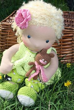 Maya2 by Darling Waldorf Dolls, via Flickr
