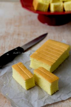 HESTI'S   KITCHEN : yummy for your tummy: Cheddar Cheese Cottony Cake (Ogura)