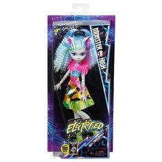 Epic Monster High Electrified Hair Raising Ghouls Silvi Timberwolf Doll Mattel Girls Toys