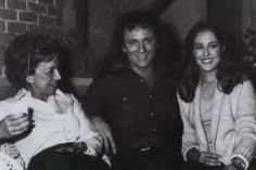 Gloria Monty with Anthony Geary and Genie Francis (Luke and Laura)  ~ General Hospital