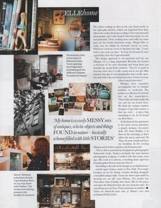 Copenhagen Apartment, Magazine Layouts, Helena Christensen, Open Plan Kitchen, Interior Styling, Personal Style, Houses, Boho, Decoration