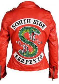 South Side Serpents Jacket PU Leather Riverdale Snakes Coat Clothing Fan Gift