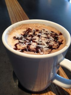 Mounds Latte*** No recipe -- picture/descriptioin inspires the addition and creating taste