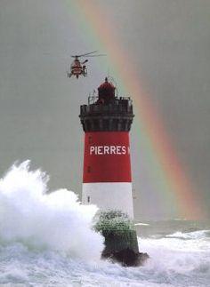 Pierres Noires Lighthouse (Black Rocks) ~ Le Conquet, France