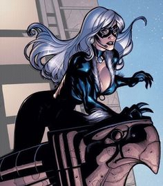 35 Hot Pictures Of Black Cat, Felicia Hardy From Marvel Comics Spiderman Black Cat, Black Cat Marvel, Comic Book Heroines, Comic Books Art, Book Art, Marvel Girls, Comics Girls, Black Cat Comics, Tiger Artwork