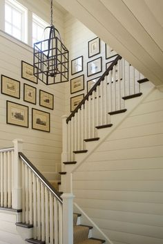 Farmhouse Style Staircase by Phoebe Howard