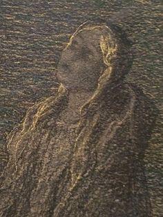 Pietà, 1890-92. Detail. GIOVANNI SEGANTINI (Arco, 15 gennaio 1858 – monte Schafberg, 28 settembre 1899) #TuscanyAgriturismoGiratola