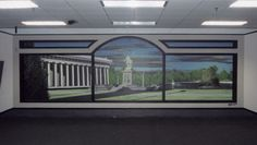 Custom Mural by Michael Cooper. For more information or to take a mural class visit www.muralsandmore.com