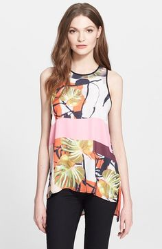 Clover+Canyon+'Falling+Leaves'+Print+Top+available+at+#Nordstrom