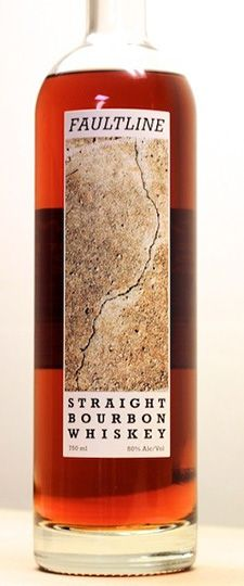 Faultline Straight Bourbon Whiskey