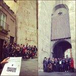 #InvasioniDigitali alla Torre dell'elefante di Cagliari! #InvasioneCompiuta