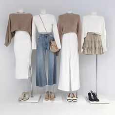 M I X + M A T C H - our new in DISSH exclusive suits styled separately with our favourite staple + denim styles Outfits Otoño, Capsule Outfits, Urban Outfits, Fashion Outfits, Womens Fashion, Really Cute Outfits, Simple Outfits, Classy Outfits, Stylish Outfits