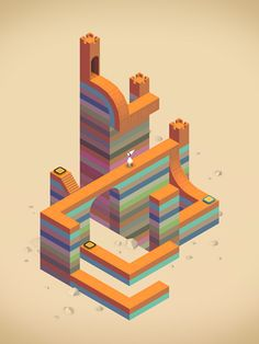 Monument Valley : Most fabulous video game and a wonderful way for kids discovering the art of Maurits Cornelis Escher .