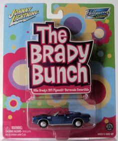 Johnny Lightning Mike Brady's 1971 Plymouth Barracuda Convertible