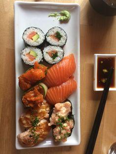 Sushi in Maruseki, Tampere, Finland.