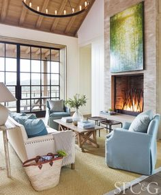 Beautiful house in St. Helena, designed by architect Howard Backen of Backen Gillam, Kroeger and featured in the newest issue of San Francisco Cottages & Gardens (12/2016)