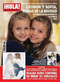 En ¡HOLA!, Leonor y Sofía, reinas de la Navidad: así serán las vacaciones de la Familia Real
