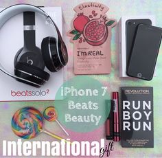 """Next Stop---> ( @working_chix) """"INTERNATIONAL GIFT TIME!!"""" One person will WIN EVERYTHING SHOWN HERE!! An iPhone7  Beats Headphones  A Beauty Package! To enter: 1Follow 2Like this photo 3Follow ( @working_chix) Repeat steps 1-3 in every photo until you've arrived back here. . This completes your entry! . BONUS: Please like 3 images on this page & comment below w/your favorite prize. SUPER BONUS: Tell us where you live and tag 3 friends below. (Bonus entries are optional) . Friends and family…"""