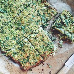 to bake.  Sandwich'ing everything between these! Broccoli Flatbread!  Broccoli almondflour  eggs  herbs.. Recipe from @gkstories and @luisegreenkitchenstories #greenkitchenstories #broccoliflatbread #glutenfree #grainfree #veggiepacked #sneakinthoseveggies #broccoli #almondflour #eggs #herbs #lunch #plantbased #plantpower #feedfeed #f52grams
