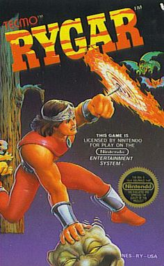 """Rygar"" - Nintendo Entertainment System (1986). This is a VERY underrated game!"
