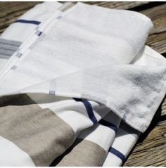 GBC Positano Toweling from Guideboat in Marin, CA   Remodelista