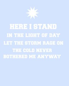 Frozen 'Let It Go' Lyrics Instant Download Digital Art