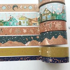 Stationary Supplies, Stationary School, Cute Stationary, Art Supplies, Masking Tape, Washi Tapes, Duct Tape, Cinta Washi, Design Tape