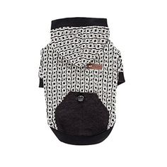 Your dog will be ready for the winter season in the Damier Dog Hoodie by Puppia in Black. Geometric square pattern and solid schemed Decorated with a pocket detail on the back with a stopper Ribbed ho Boy Dog Clothes, Dog Sling, Dog Accesories, Interactive Dog Toys, Jumpsuits For Girls, Estilo Fashion, Dog Costumes, Dog Hoodie, Dog Coats