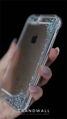 @grandwall Liquid Glitter Phone Case only $10! Shop this case here: http://grandwall.co/products/silver-liquid-glitter-phone-case?variant=10936630277