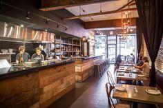 $$ RICKSHAW BAR | WEST QUEEN WEST: 865 Queen St. W. | Asian Tapas (Indian/Pakistan/Thai/ Burmese) | No. 4 on Joanne Kates Spend a Little Best Restaurant List 2016. Former chef at Chicago's Alinea, Dubai's Burj Al-Arab, and Toronto's Origin + Momofuku | BlogTO + Joanne Kates