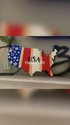 1 Dollar Store, Plywood Art, United States Map, State Map, For Stars, Stencils, The Unit, Happy, Painting