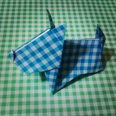 Origami Dog by Tania Ishii