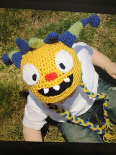 Henry Hugglemonster Hat! Micah would flip! $22.00, via Etsy.
