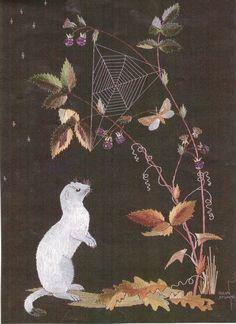 Woodland Aristocracy, by Helen Stevens, 2/7/12