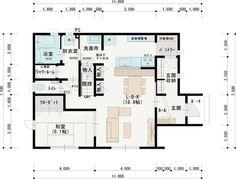 80㎡左右的正方形公寓房平面布局