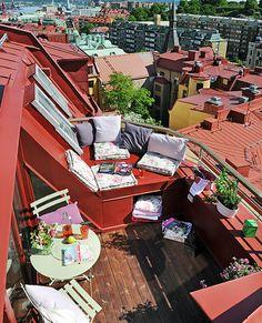 Сказочный уголок для отдыха: 30 вдохновляющих балконов во всех деталях | Дизайн-Ремонт.инфо. Фото интерьеров. Идеи для дома.