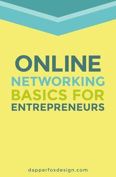 Online networking for Entrepreneurs