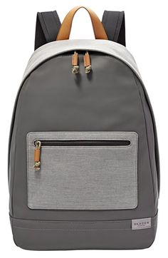 Skagen 'Kroyer' Neutral Colorblock Backpack available at #Nordstrom