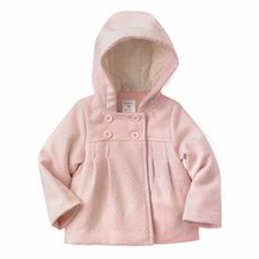 Carter's Hooded Peacoat - Baby