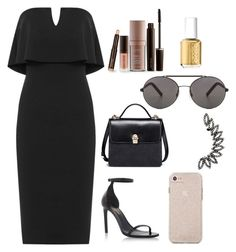"""""""Untitled #28"""" by luckyrandhawa on Polyvore featuring beauty, WearAll, Yves Saint Laurent, Seafolly, Laura Mercier and Essie"""