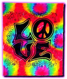 Love Tie Dye Tapestry- Love Tie Dye Tapestry Spread the love around. This tie dye wall hanging tapestry would look great on your wall. It's a silk screen design tapestry that is a giant 40 x Happy Hippie, Hippie Love, Hippie Art, Tie Dye Tapestry, Tapestry Wall Hanging, Cool Tapestries, Peace Sign Art, Feelin Groovy, Hippie Shop