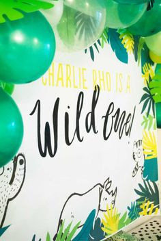 Wild One Birthday Party