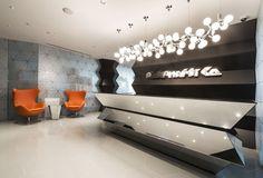 Rompharm Office by Geometrix Design