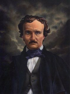 """God gave me a spark of genius, but he quenched it in misery."" - R.I.P. Edgar Allan Poe, who died on a day like today in 1849."