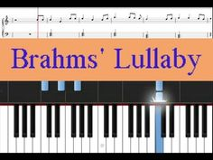 Learn how to play this traditional song, Brahms' Lullaby on piano. This easy piano song comes with free printable sheet music for download http://www.zebrakeys.com/blog/2011/06/brahms-lullaby/