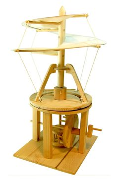 Leonardo da Vinci Aerial Screw Helicopter Model Kit